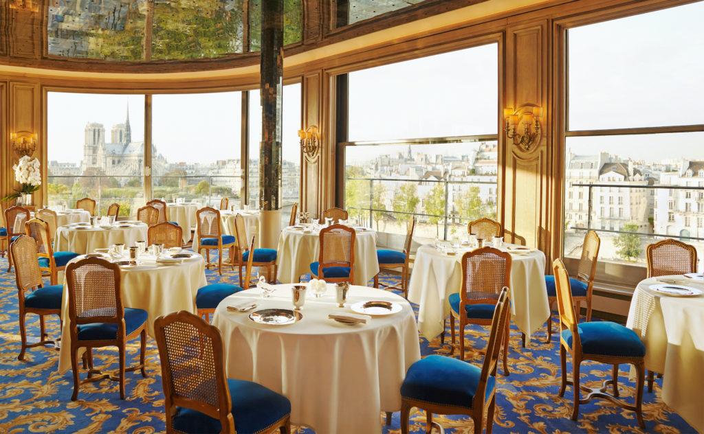 La Tour d'Argent - salle du restaurant © Herminie Philippe